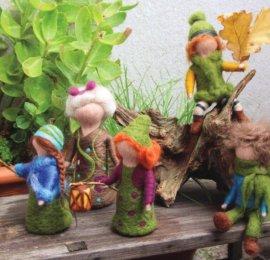Lesní víly a skřítci