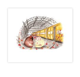 Belgie – ilustrace z knihy Jóga do batůžku