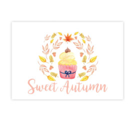 Přání Sweet Autumn